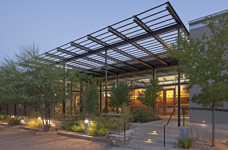 LEED-gold certified Livestrong Foundation in Austin, Texas