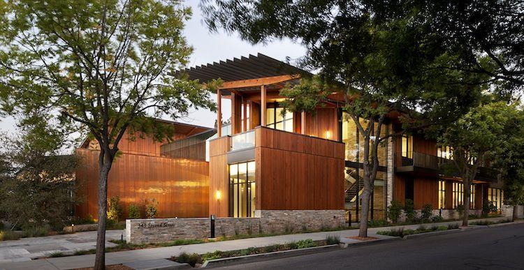 energy-efficient Packard Foundation Headquarters in Los Altos, California