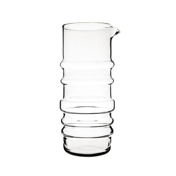 Modern glass vase by Scandinavian designer