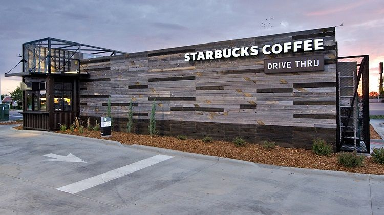 Starbucks Drive-Thru in Chicago, Illinois