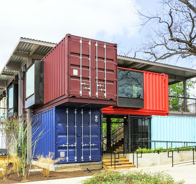 Container Bar in Austin, Texas