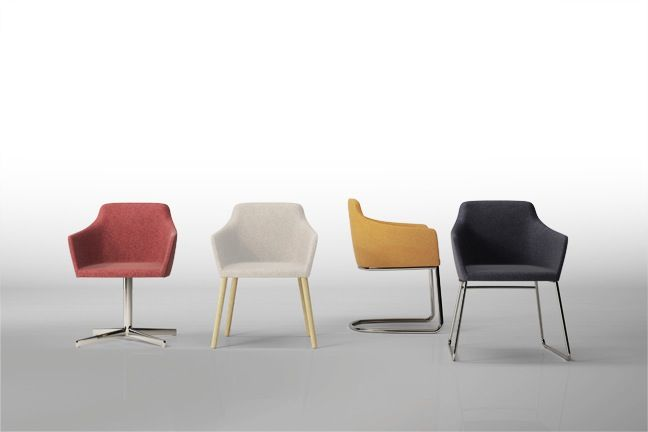Nestle Chair by Brad Ascalon for Stylex Seating at NeoCon 2014