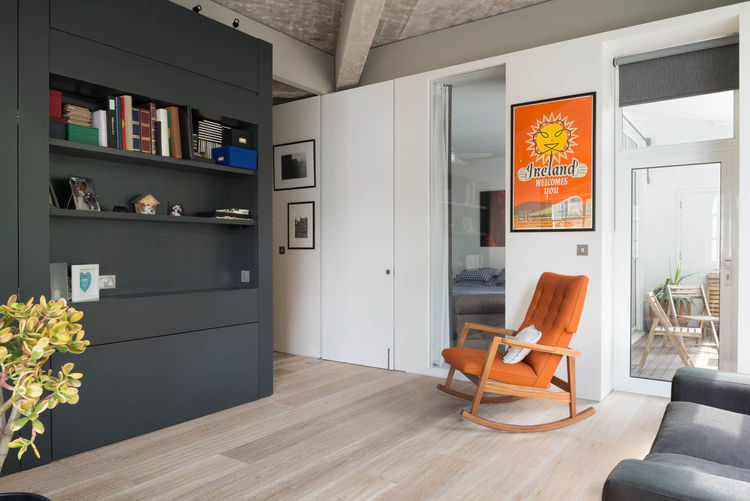 Renovated apartment in Clerkenwell, London.