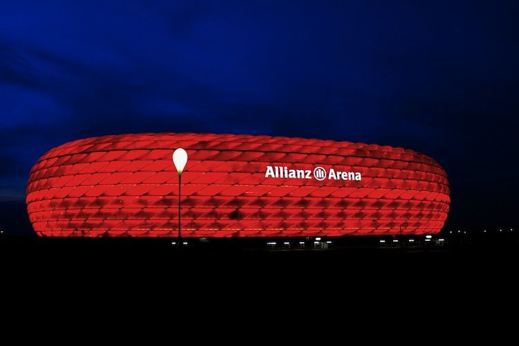 Allianz Arena in Munich, Germany