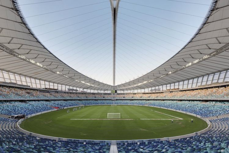 Moses Mabhida Stadium in Durban, South Africa