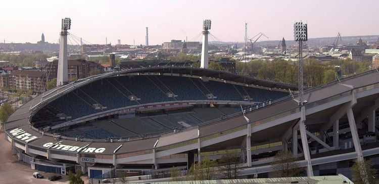 Ullevi Stadium in Gothenburg, Sweden