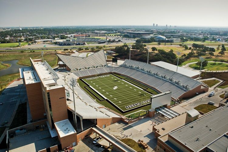 Apogee Stadium, the nation's first LEED Platinum college football field