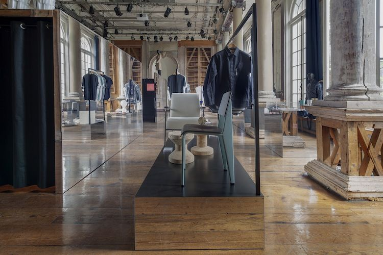 Pop-up store in Amsterdam for Frame magazine
