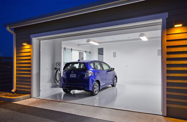 UC Davis and Honda Smart Home Garage