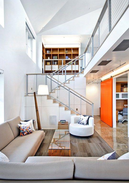 UC Davis and Honda Smart Home living room