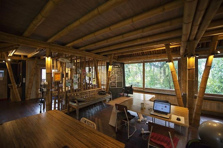 Sustainable coworking space in Bali