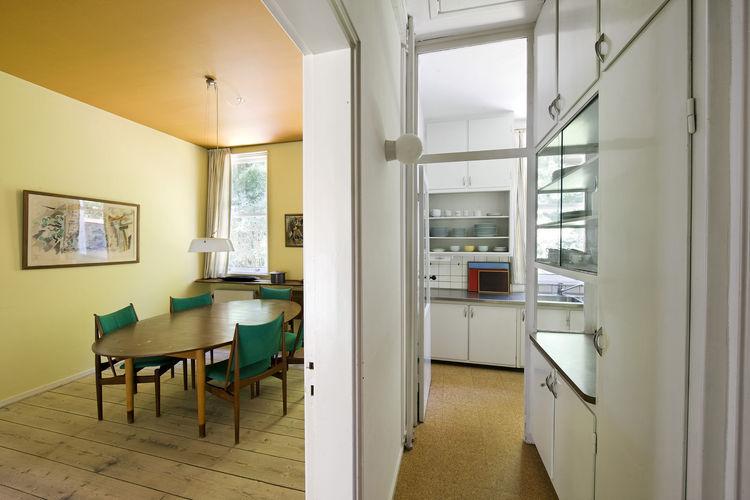 Finn Juhl's Dining Room and Kitchen