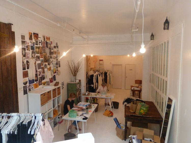 Horses Atelier store interior.