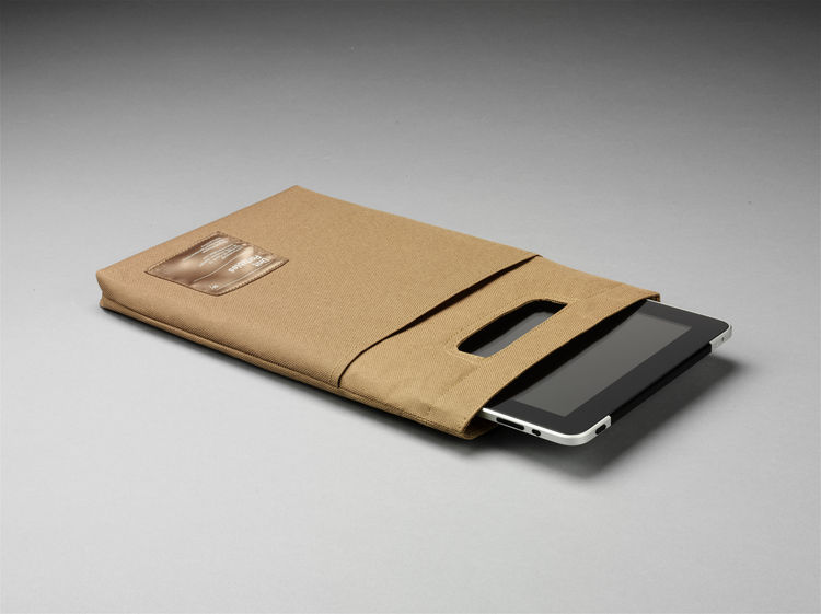 simple and refined iPad carrying case
