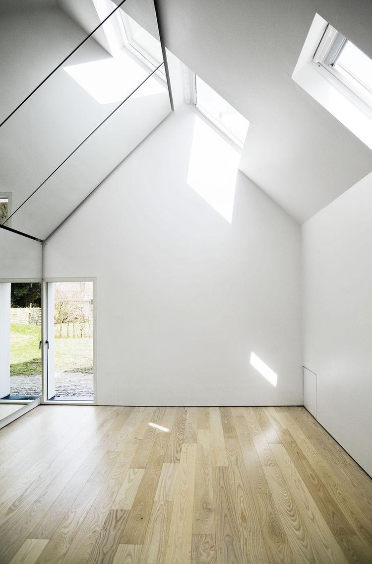 Interior of the Farum house studio.