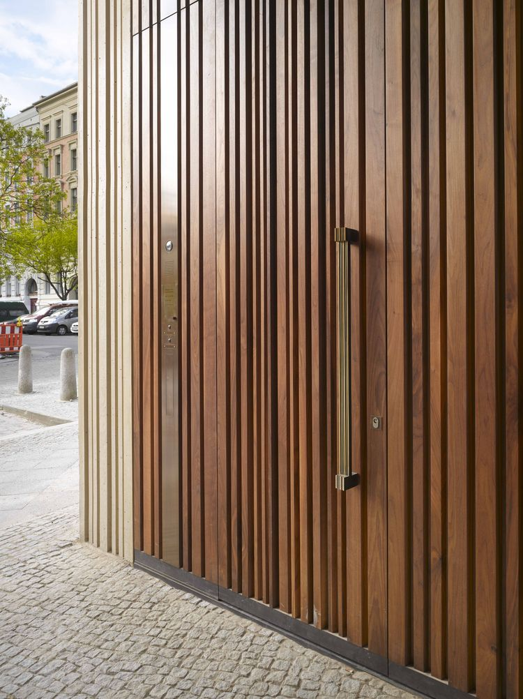Architectural Drawing Museum wooden door