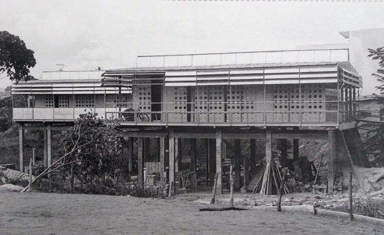 Jean Prouve prefab for the French colonies in Africa
