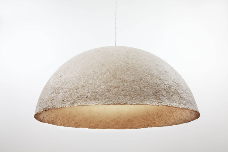 Mush-Lume Hemi pendant lamp by Danielle Trofe