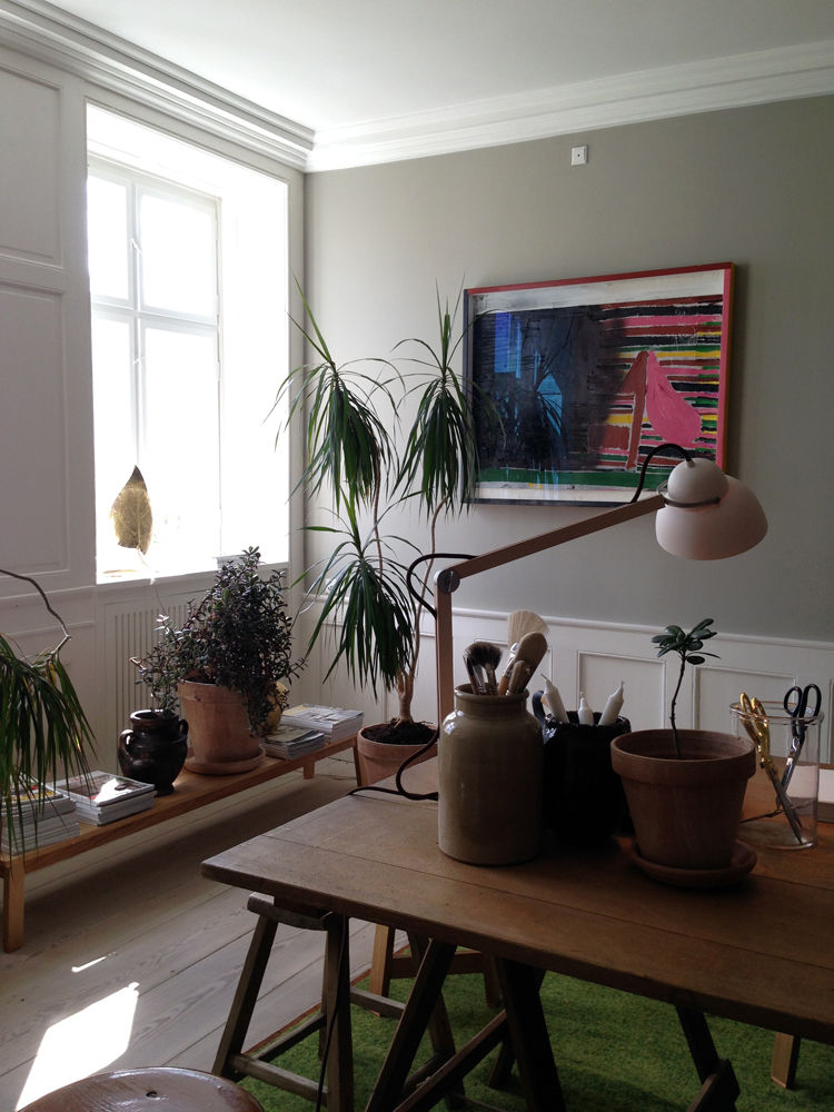 Object vignette by Ilse Crawford and Studioilse for The Apartment in Copenhagen