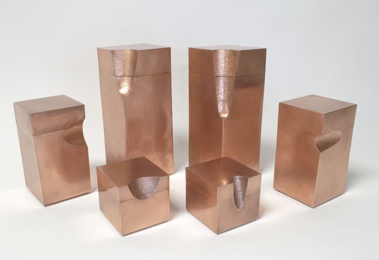 copper boxes by shinola and smith shop