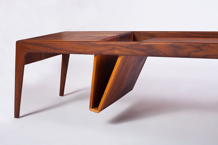 Ali Sandifer Studio Mag hardwood table