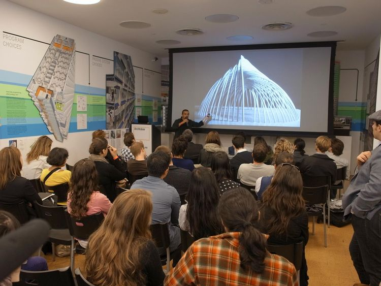 Design Open Mic presentation by Architecture for Humanity