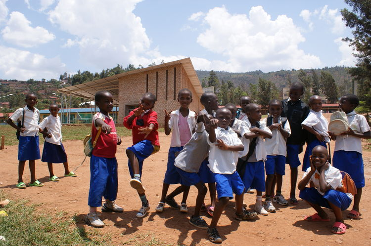 Architecture for Humanity Sports for Change program in Africa