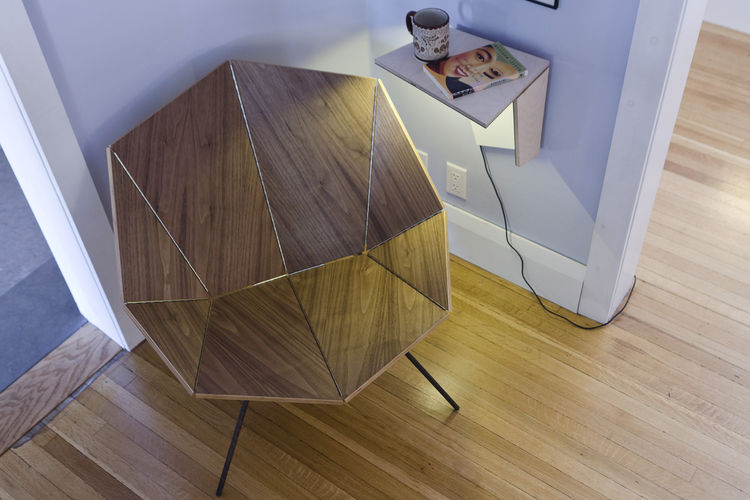 Origami Chair and Flip Shelf