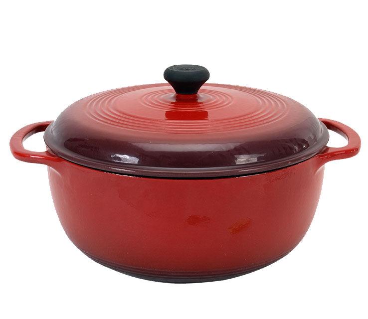 Dutch oven cast-iron pot