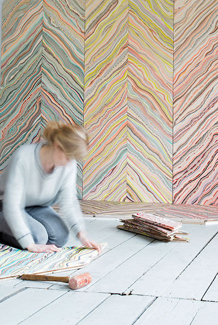 Pernille Snedker Hansen Marbelous Wood
