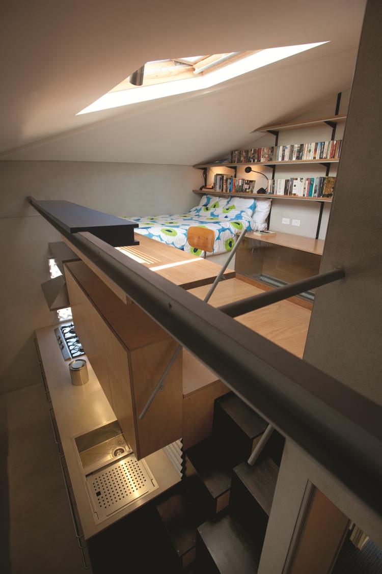 Loft space in the Tamarama renovation