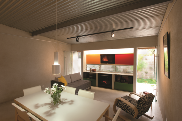 Open-plan compact home in Australia