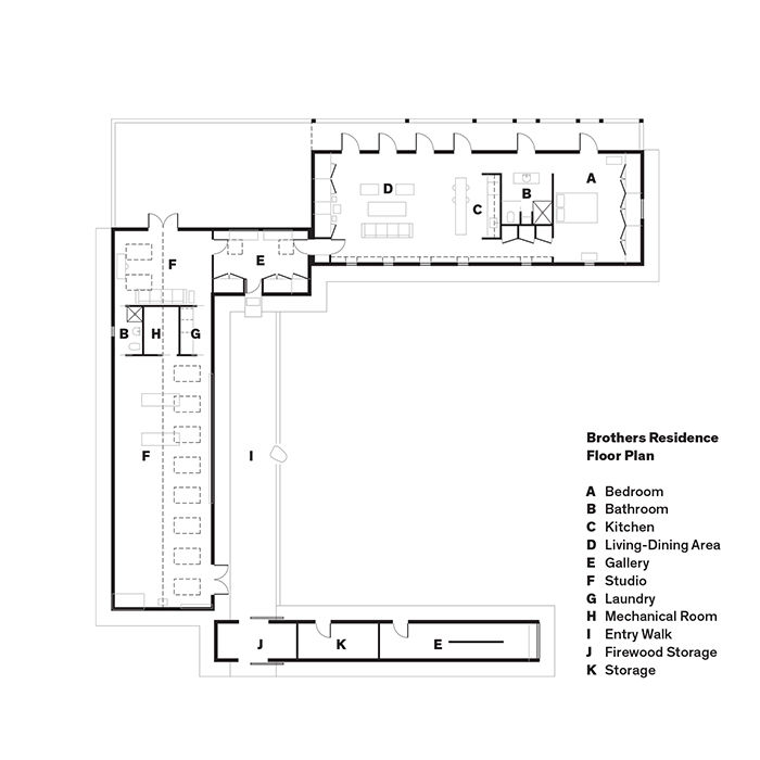 Orcas Island floor plan