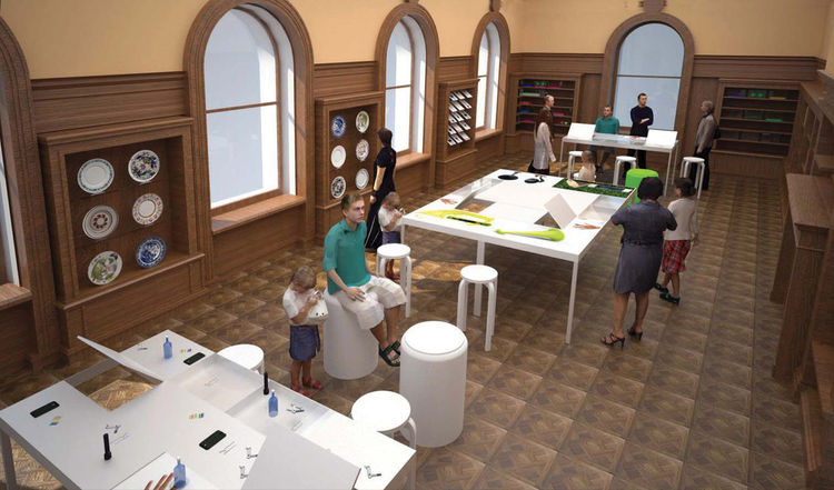 Cooper Hewitt National Design Museum Process Lab
