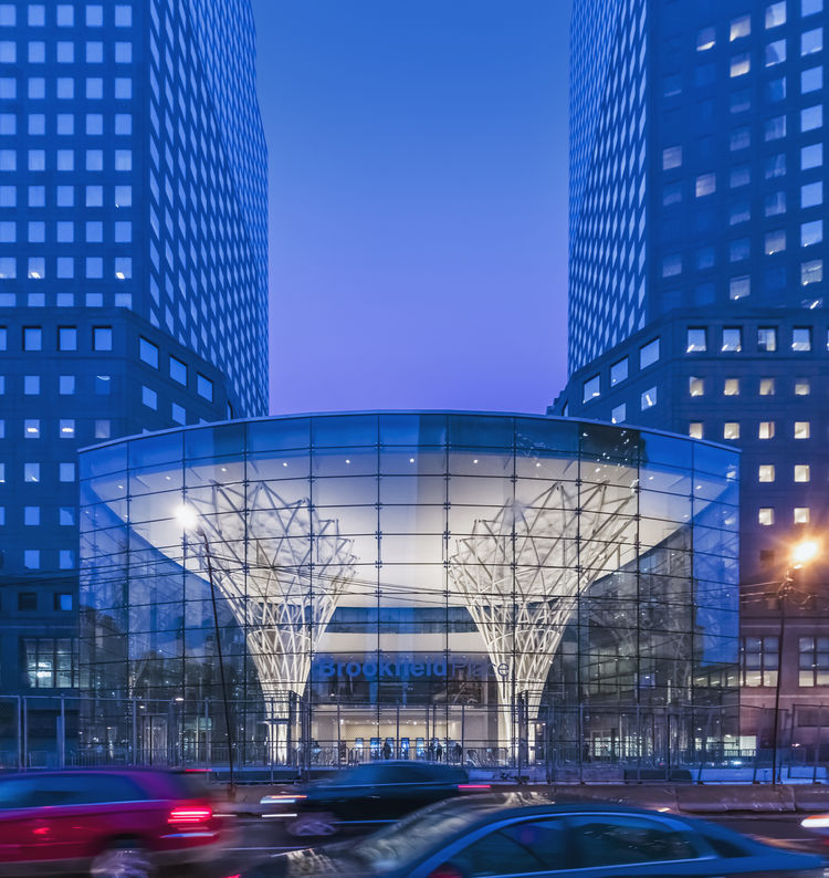 The Pavilion at Brookfield Plaza by Pelli Clarke Pelli Architects