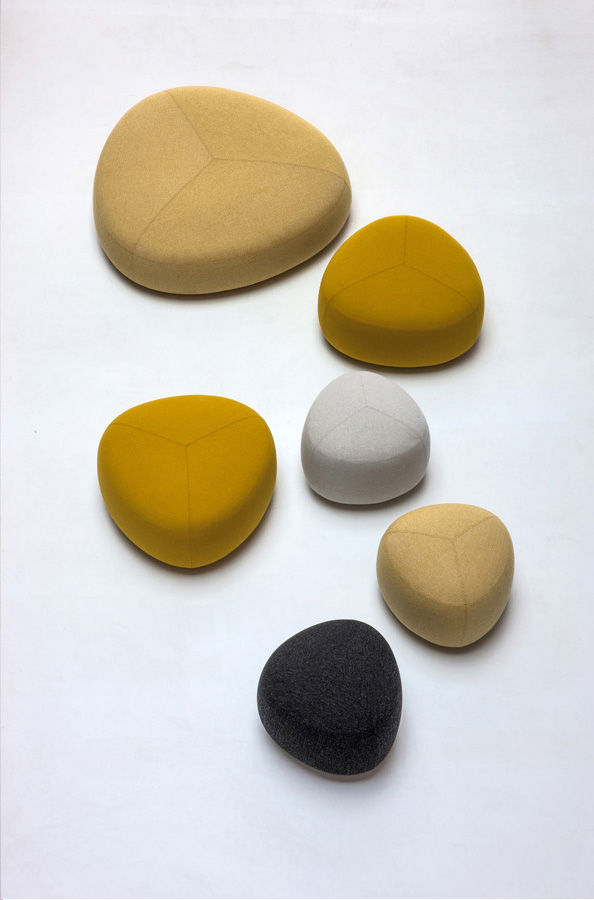 Kipu poufs by Anderssen & Voll for Lapalma