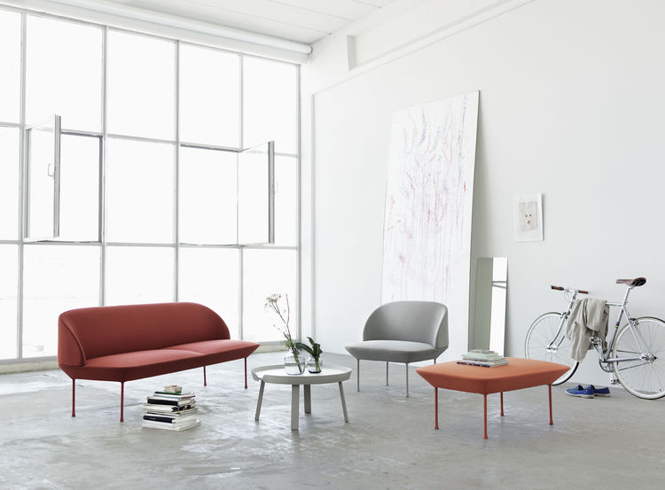 Oslo sofa and seating collection by Anderssen & Voll for Muuto