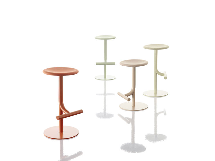 Colorful Tibu stool by Anderssen & Voll for Magis