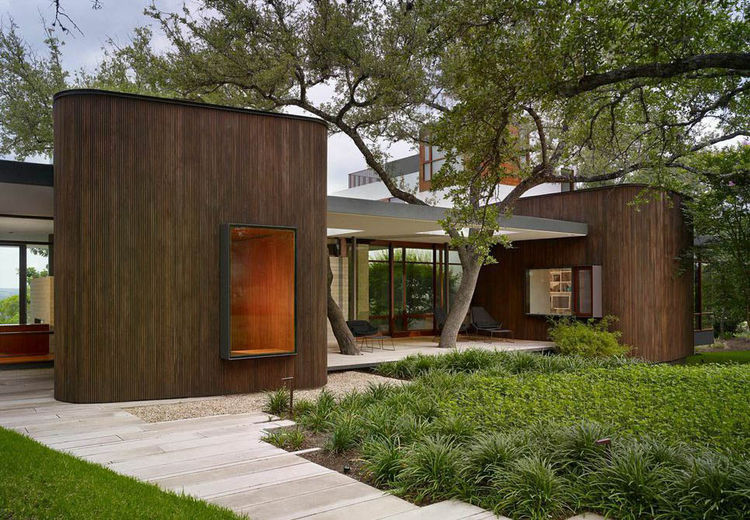 A modern house in Austin, Texas