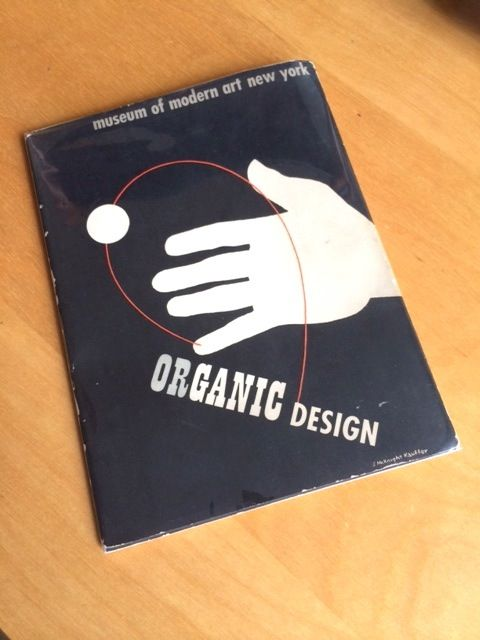 MoMA Design catalog on organic design from 1941