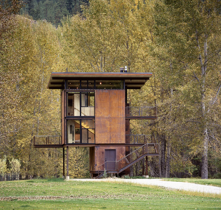 Delta Shelter by Olson Kundig