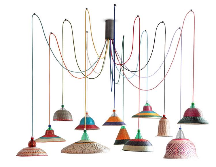 PET Lamp by Alvaro Catalán de Ocón
