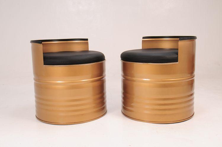 Double Seat Barrel by Rolando Pena