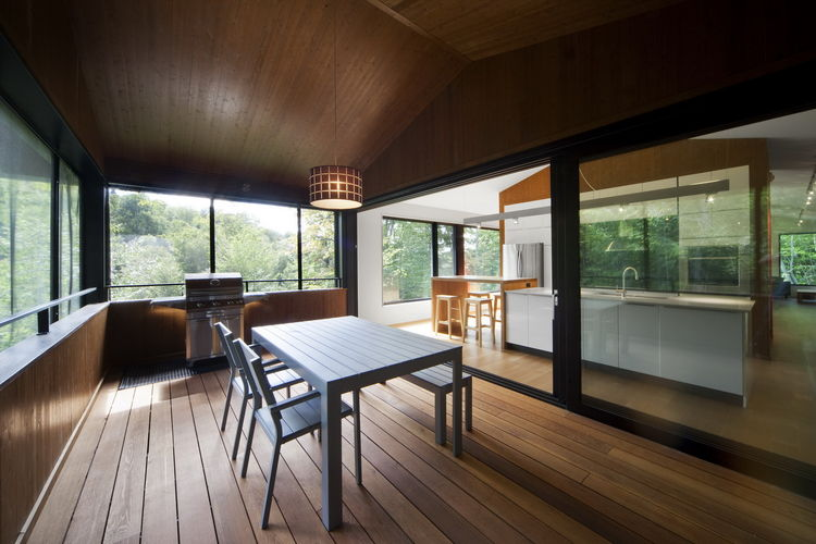 Modern cottage in Quebec