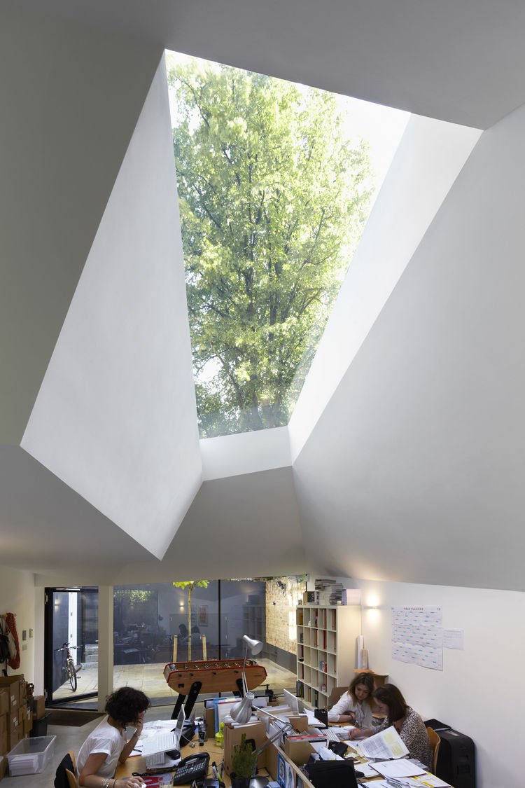 Office Skylight at the Lens House