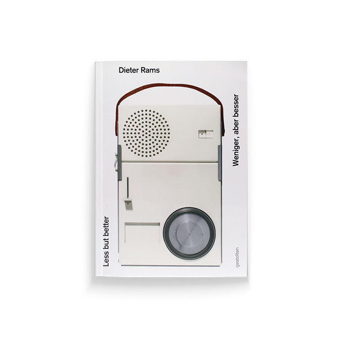 """""""Less but Better"""" book by Dieter Rams"""