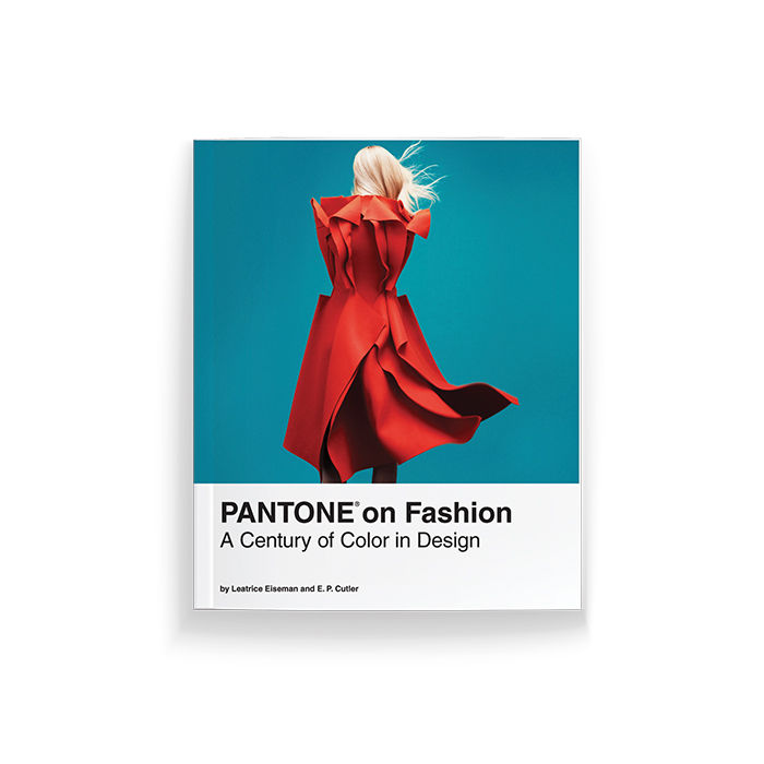 """Pantone on Fashion: A Century of Color in Design"" coffee table book"