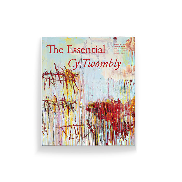 """The Essential Cy Twombly"" book"