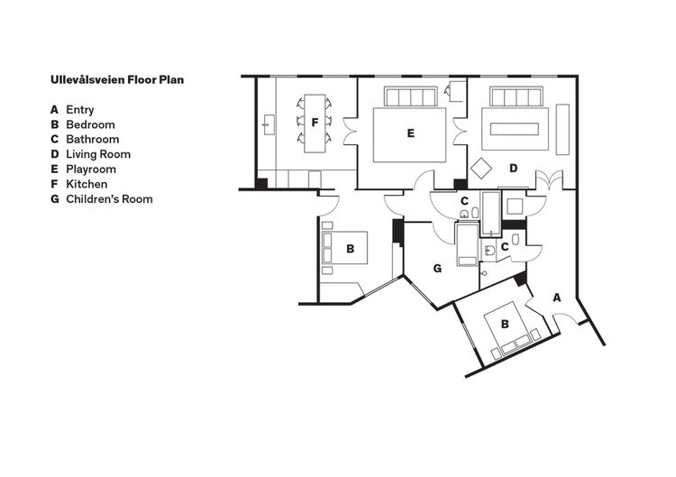 Oslo house floor plan