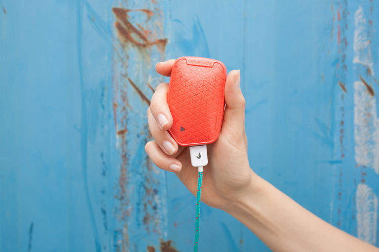 The Velvetwire Powerslayer fits in the palm of your hand.